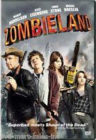 Zombieland (dvd, 2010, Widescreen) Brand
