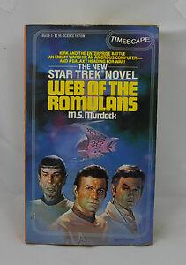 Star Trek Web Of The Romulans Por M. S. Murdock 1st Estampado Junio 1983