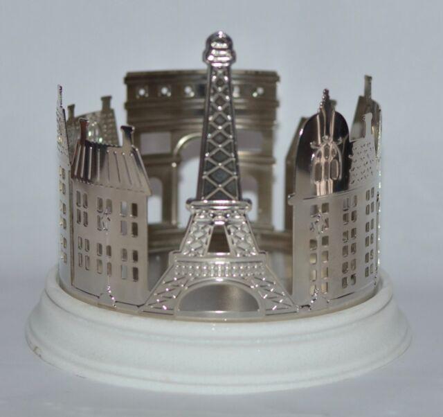 BATH BODY WORKS PARIS CITY STREET EIFFEL TOWER LARGE 3 WICK CANDLE HOLDER SLEEVE