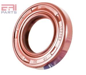 EAI Metric Oil Shaft Seal 20X35X7mm Dust Grease Seal TC Double Lip w// Spring