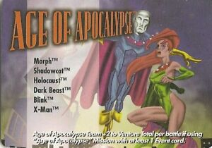 OVERPOWER-Location-Age-of-Apocalypse-Classic-Rare-Marvel