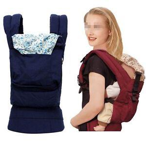 Newborn Kid Infant Baby Carrier Backpack Front Back Sling Wrap Bag Adjustable