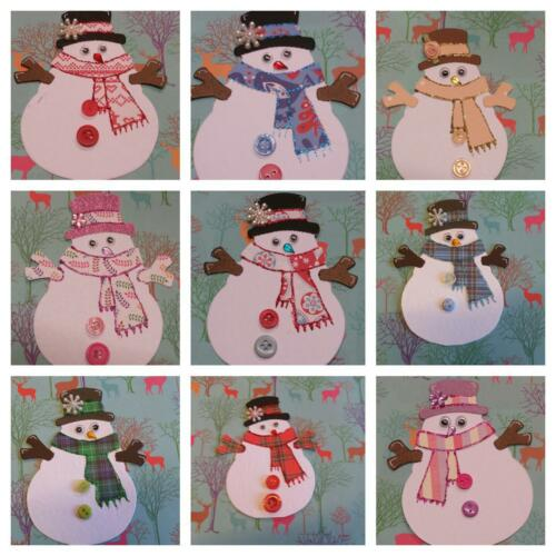 1 Beautiful ready made Christmas Topper for cards or Scrapbooking