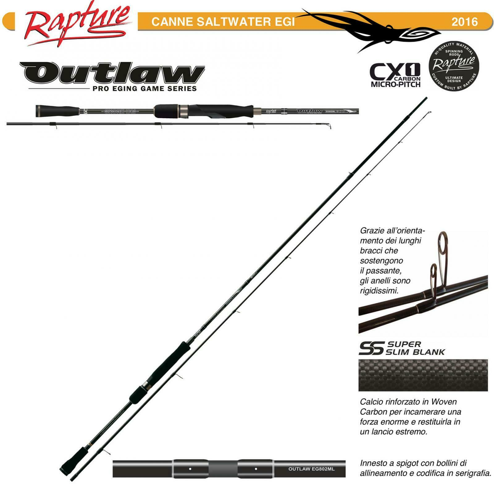 12632300 Canna Eging Spinning 8  Rapture Outlaw CX1 Cochebon Micro Pitch    FEU