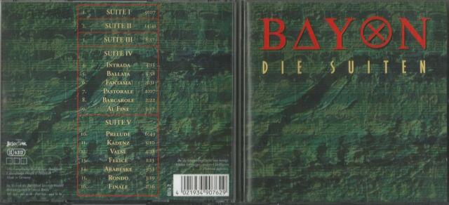 BAYON CD DIE SUITEN top Zustand Buschfunk no AMIGA DDR Rock