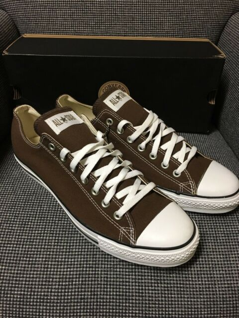 Converse All Star Chuck Taylor Ct as Oxford Chocolate Canvas Shoes Men 1q112 13