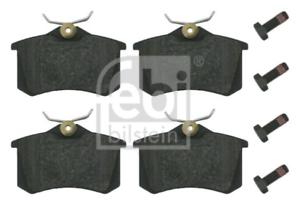 Bremsbelagsatz Scheibenbremse für Bremsanlage Hinterachse FEBI BILSTEIN 16344