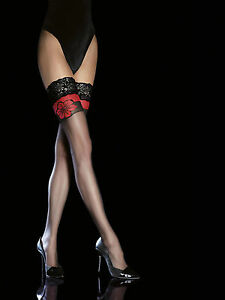 Fiore-Obsession-Yara-20-Denier-Hold-Ups-Sheer-Flock-Velvet-Tops-Beautiful-Flower