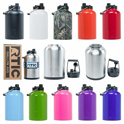 CASCADE TUMBLERS 128OZ ONE GALLON INSULATED STAINLESS STEEL WATER JUG
