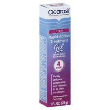 Clearasil Ultra Rapid Action Vanishing Acne Treatment Gel, 1 Ounce + Tweezer