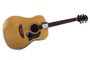 Trick-Pony-Autographed-Signed-Acoustic-Guitar-PSA-UACC-RD-COA-AFTAL