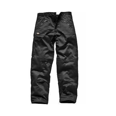 New Dickies Redhawk Action Combat Work Wear Cargo Trousers & Knee Pad Pockets