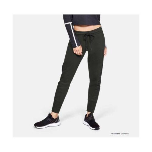 Verde Rival Pantalone W 1321190 Armour Scuro Fleece Under Pqn8STnwO