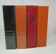 Lot Of 4 Used Assorted 3 Ring Binders 2 Two Inch Various Colors D Style Rings