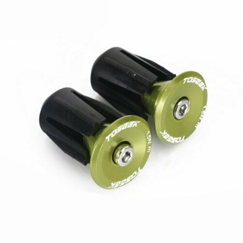 1 Pair Bike Handlebar End Stopper MTB Bicycle Grip Firm Handlebar Caps PF