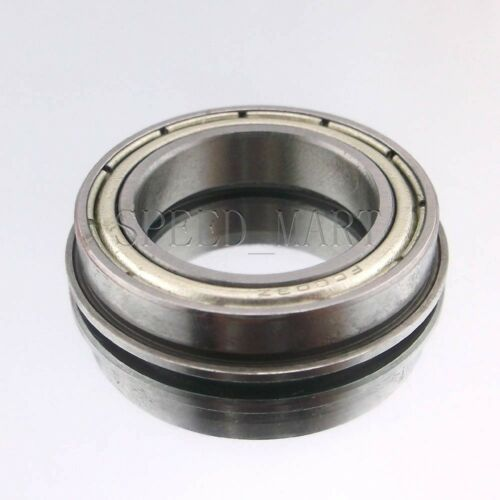 12mm*21mm*5mm F6801zz Metal Double Shielded  Flanged  Ball Bearings