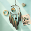 Dream-Catcher-With-Feathers-Wooden-Owl-Wall-Hanging-Decor-Ornament-Handmade thumbnail 1