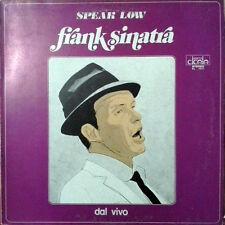 DISCO 33 GIRI   FRANK SINATRA – SPEAK LOW - DAL VIVO         A