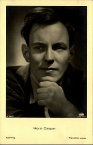 HORST-CASPAR-Schauspieler-Portraet-AK-Kino-Buehne-Ross-Verlag-1935-Nr-3397-1