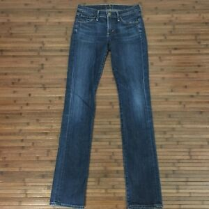 Citizens-Of-Humanity-Womens-Low-Rise-Skinny-Jeans-Size-25