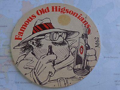 Bier & Brauerei Honig Hüfte Bier Untersetzer ~ Higsons Liverpool Brewery  Berühmte Alt Higsonians: Bier & Bierdeckel