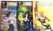 1990s Terminator: End Game Comic Book Set of 3-Dark Horse #1-3 UNREAD