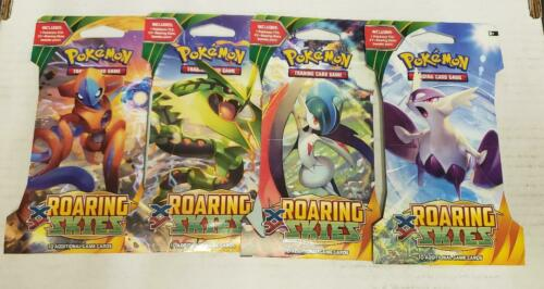 Pokemon TCG XY Roaring Skies Sleeved Booster Pack One Pack Brand New Sealed