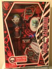 """MONSTER HIGH GHOULIA YELPS DOLL 2010 """"THIS IS THE ORIGINAL"""" VERY RARE!"""