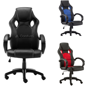 Adjustable Computer Racing Sports Car Seat Office Chair
