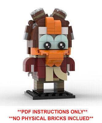 DONALD Minifigure DUCK Lego MOC Louie New Version Character Walt Disney Movie