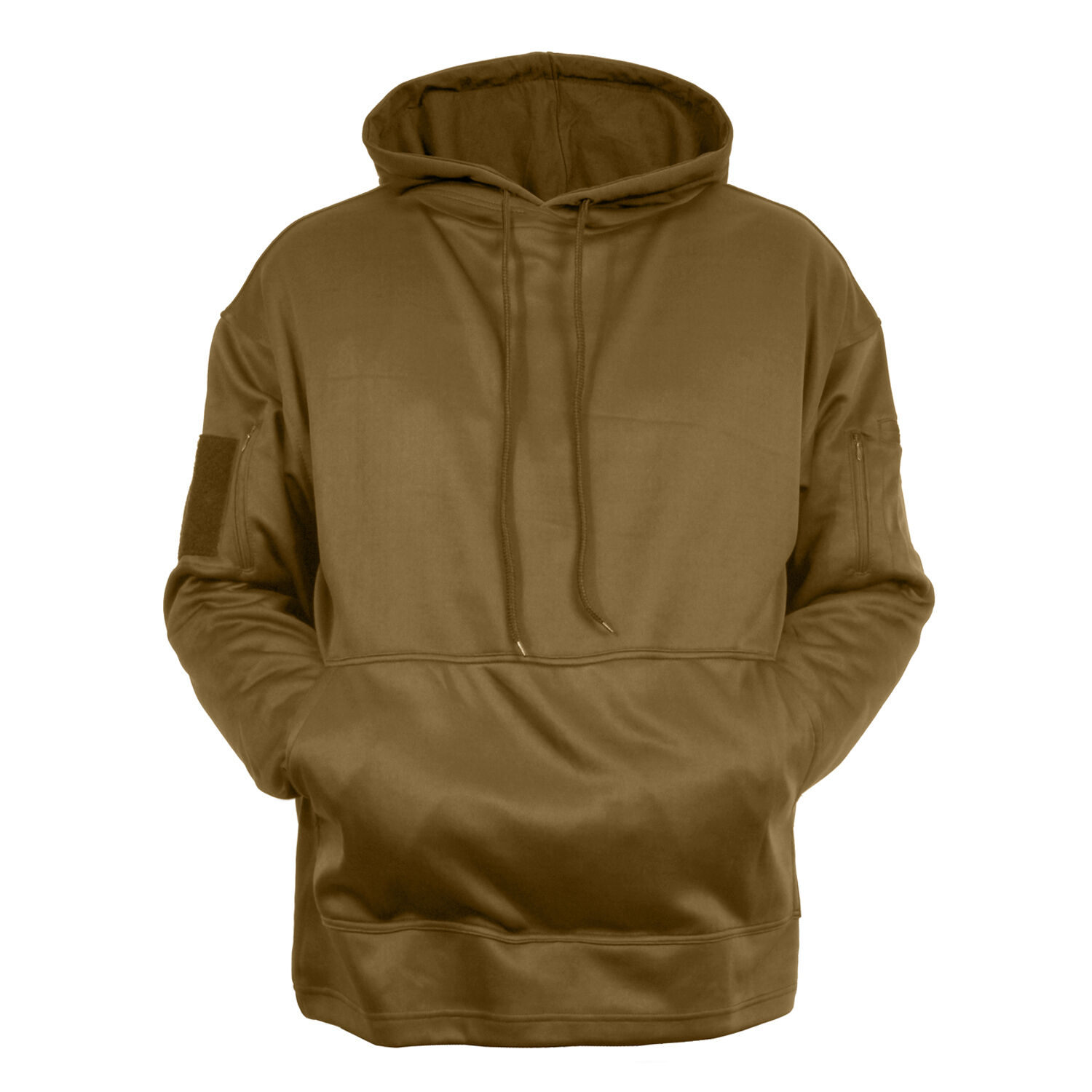 Tactical ccw hoodie hooded sweatshirt coyote brown concealed carry redhco 2081