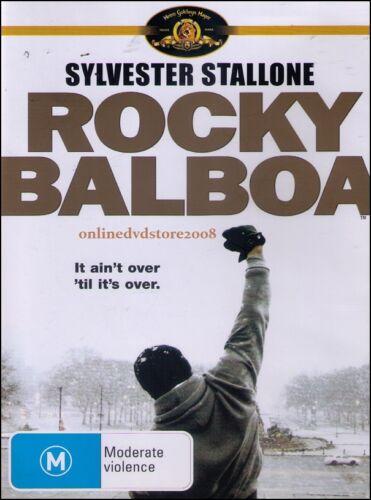 1 of 1 - ROCKY BALBOA (Sylvester STALLONE Burt YOUNG) Boxing Drama Film DVD Region 4