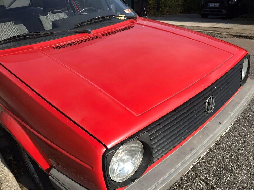 VW Golf II, 1,3 C, Benzin