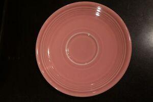 Pair-of-Vintage-Fiesta-Rose-Sauces-Fiestaware-1950s-Pink-Homer-Laughlin-Plates