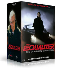 The Equalizer - The Complete Series Collection . Season 1 2 3 4 . 24 DVD . NEU