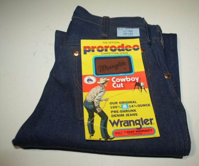 cbdf1752 Wrangler 13mwz Cowboy Cut Original Fit Mens Jeans 28 32 for sale ...