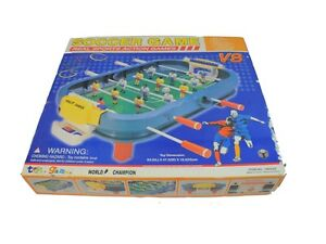 Image Is Loading Vintage Real Sports Action Soccer Game Table Top