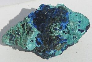 Natural-Crystal-Raw-Azurite-and-Malachite-Large-150g-Rare-Collectable-AM28
