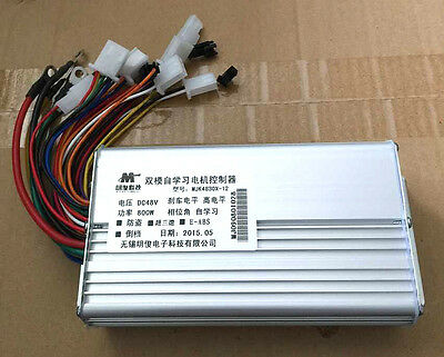 48V 500W Bicycle Brushless Speed Motor Controller For E-bike & Scooter