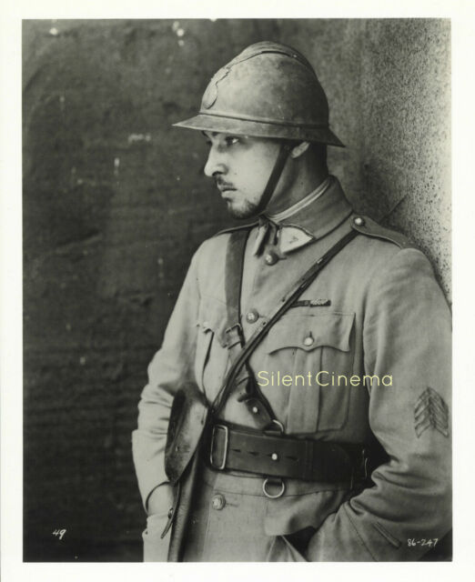 FOUR HORSEMEN OF THE APOCALYPSE Rudolph Valentino as French Solider in WWI