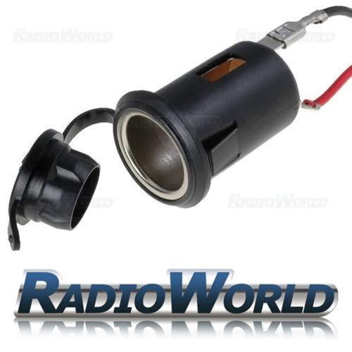 Universal Coche Encendedor De Montaje Montaje en Panel 12v 10A con cable