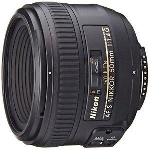 Details about USED Nikon NIKKOR 2180 50mm f/1 4 AF-S M/A Lens Excellent  FREESHIPPING