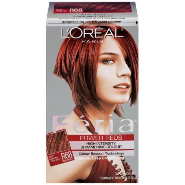 Feria Rich Auburn True Red Hair Dye