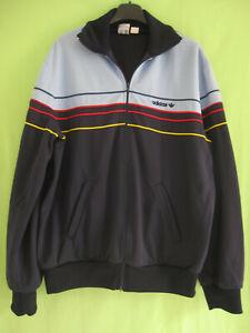 Détails sur Veste Adidas Ventex France 80'S Ciel et marine Vintage Jacket Sport 186 XL