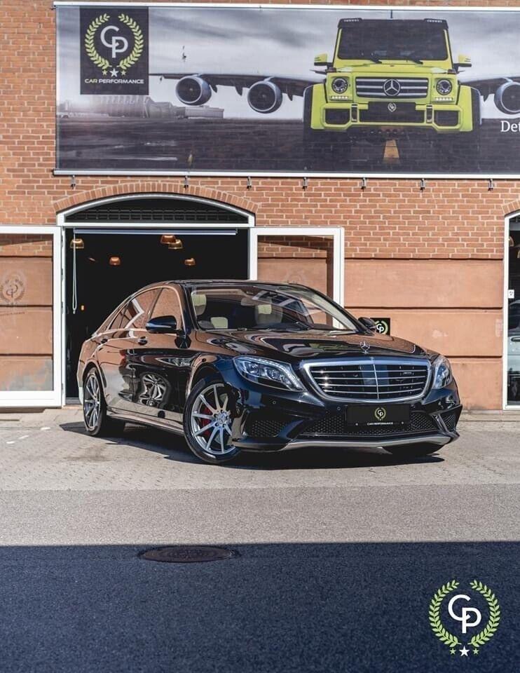 Mercedes S63 5,5 AMG aut. 4-M lang 4d - 6.999 kr.