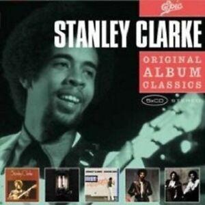 STANLEY-CLARKE-034-ORIGINAL-ALBUM-CLASSICS-034-5-CD-BOX-NEW