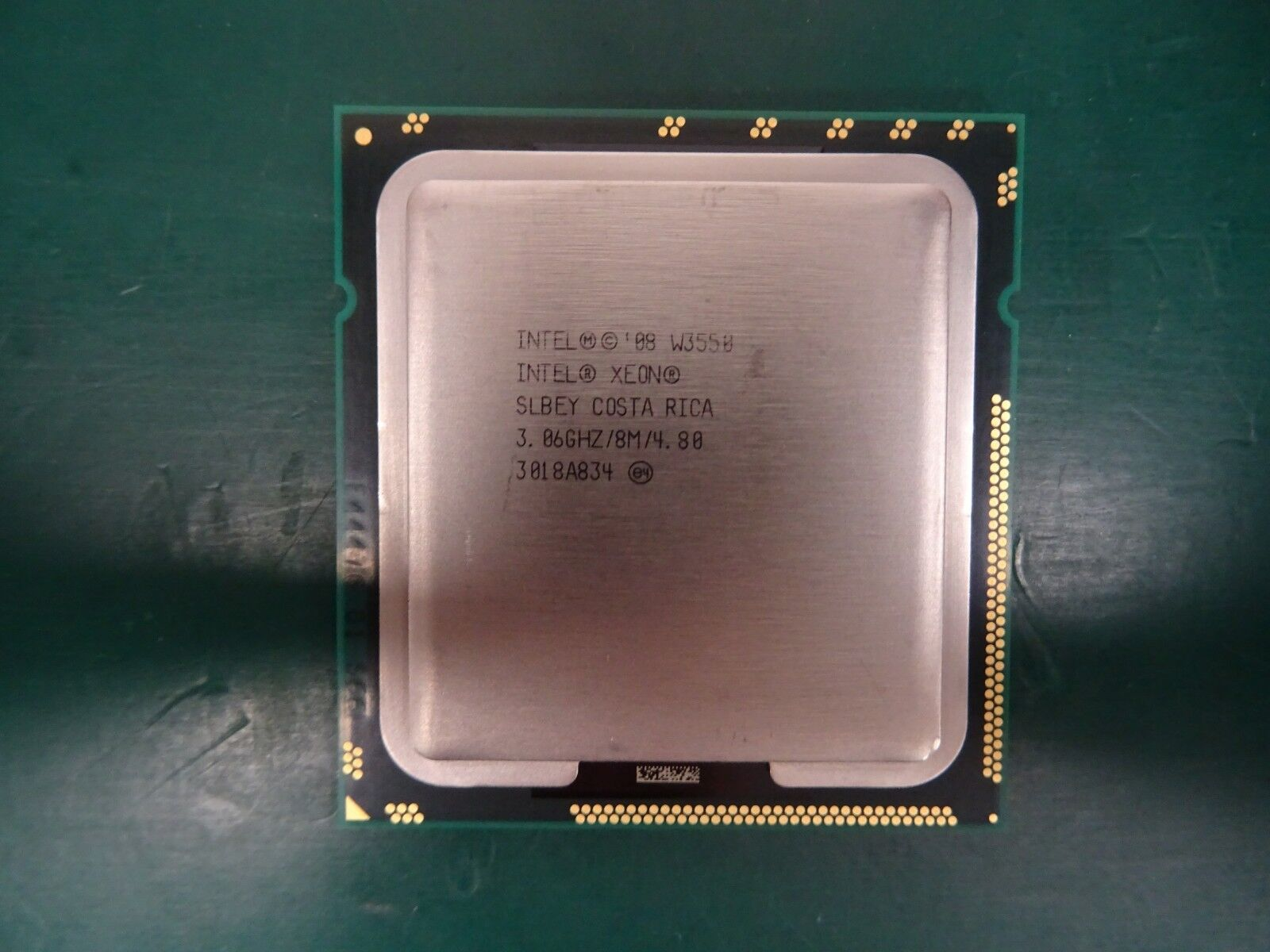 10 x Intel Xeon Processor CPU SLBEY W3550 8 MB L3 Cache 3.06 GHz 4.8 GT/s 130w