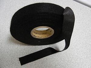 elliott et950 black fleece tape wire harness wrap quiet. Black Bedroom Furniture Sets. Home Design Ideas