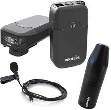 Rode RodeLink Filmmaker Funkmikrofon Drahtlos-System+ KEEPDRUM ADP08 Adapter XLR