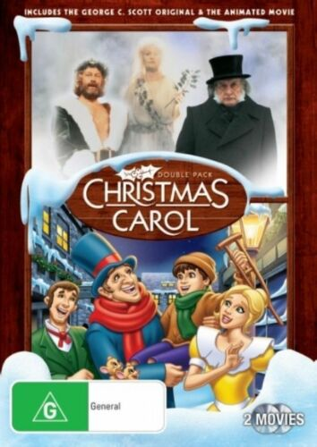 1 of 1 - Christmas Carol Double Pack NEW R4 DVD